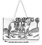 Chaucer: The Prioress Weekender Tote Bag