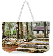 Cheaha State Park In The Fall Weekender Tote Bag