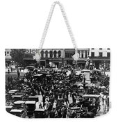 Cheapside Public Square In Lexington - Kentucky - April 7  1920 Weekender Tote Bag