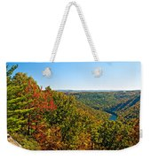 Cheat River Weekender Tote Bag