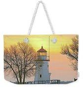 Cheboygan Harbor Light 2 Weekender Tote Bag