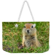 Check Out My Good Side Weekender Tote Bag
