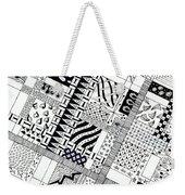 Checkerboard Weekender Tote Bag