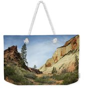 Checkerboard Mesa Weekender Tote Bag