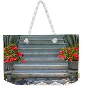 Checkered Tile Weekender Tote Bag