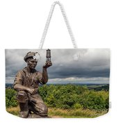Checking For Gas Weekender Tote Bag