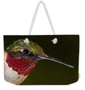 Checking Out The Photographer Weekender Tote Bag