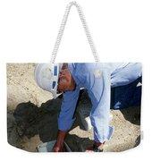 Checking Seismometer Weekender Tote Bag
