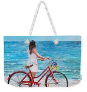 Checking The Surf Weekender Tote Bag