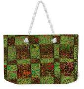 Checkoff Abstract Pattern Weekender Tote Bag