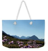 Cheerful Alpine Daisy Meadows Weekender Tote Bag