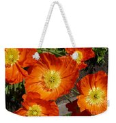 Cheerful Orange Flowers  Weekender Tote Bag