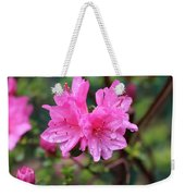 Cheerful Rain Weekender Tote Bag