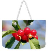Cheery Cherries Weekender Tote Bag