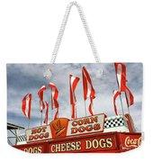Cheese Dogs Galore Weekender Tote Bag