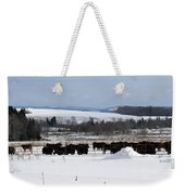 Cheese Makers With A View Weekender Tote Bag