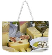 Cheese Plate Weekender Tote Bag
