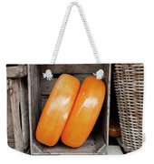 Cheese Wheels Weekender Tote Bag