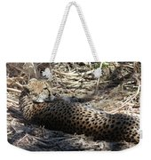 Cheetah Awakened Weekender Tote Bag