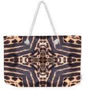 Cheetah Cross Weekender Tote Bag