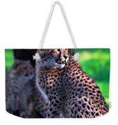 Cheetah Cub Weekender Tote Bag