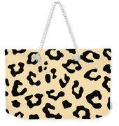 Cheetah Fur Weekender Tote Bag