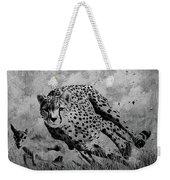 Cheetah Hunting Deer  Weekender Tote Bag