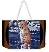 Cheetah Lean And Mean Weekender Tote Bag