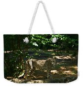 Cheetah On The In The Forest 2 Weekender Tote Bag