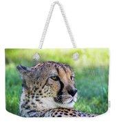 Cheetah Weekender Tote Bag
