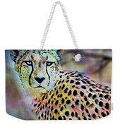 Cheetah Viii Weekender Tote Bag