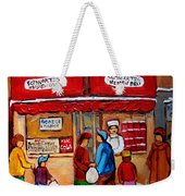 Chef In The Window Weekender Tote Bag