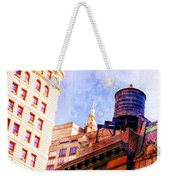 Chelsea Water Tower Weekender Tote Bag