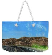 Chem Trails Valley Of Fire  Weekender Tote Bag