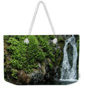 Chemisal Falls At Vichy Springs In Ukiah In Mendocino County, California Weekender Tote Bag