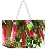 Chenille Caterpillar Plant Weekender Tote Bag