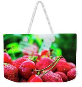 Cherries And Berries Weekender Tote Bag
