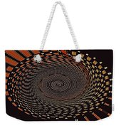 Cherry Basket Weaving Abstract Weekender Tote Bag