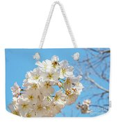 Cherry Blossom And A Bee Weekender Tote Bag