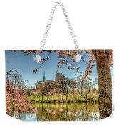 Cherry Blossom Branch Brook Park, Newark, Nj  Weekender Tote Bag