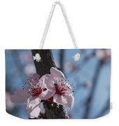 Cherry Blossom Branch Weekender Tote Bag