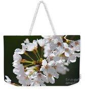 Cherry Blossom Cluster Weekender Tote Bag