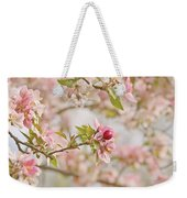 Cherry Blossom Delight Weekender Tote Bag by Kim Hojnacki
