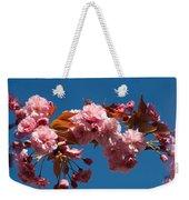 Cherry Blossom Flowers Weekender Tote Bag