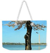 Cherry Blossom Portrait Weekender Tote Bag
