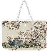 Cherry Blossom Tidalbasin View Weekender Tote Bag