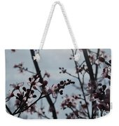 Cherry Blossom Transparency Weekender Tote Bag