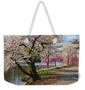 Cherry Blossom Trees Of Branch Brook Park 17 Weekender Tote Bag