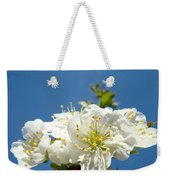 Cherry Blossoms Art White Spring Tree Blossom Baslee Troutman Weekender Tote Bag