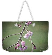 Cherry Blossoms In Early Spring Weekender Tote Bag